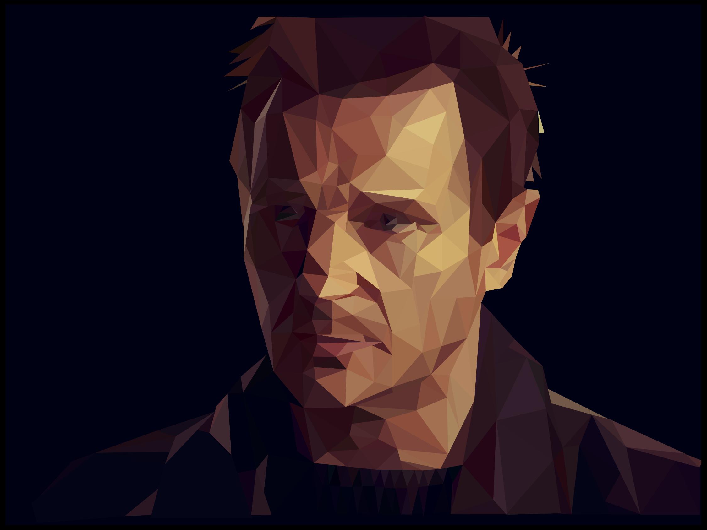 thought hand vector style portr - micah_denn | ello