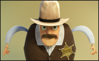 The Sheriff - Character Design